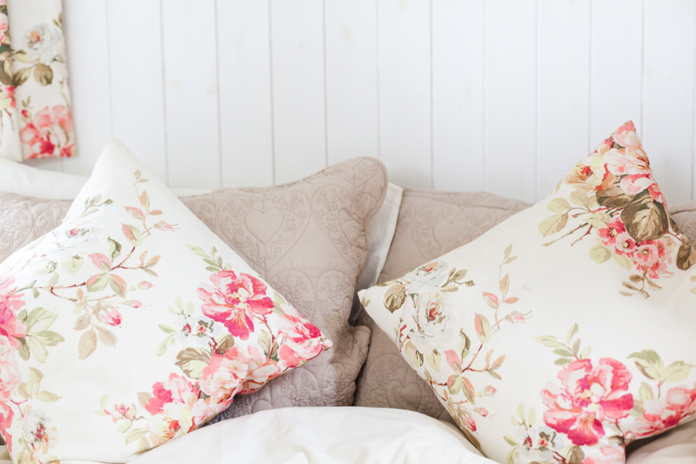 Shoutout other local businesses that you have worked with and get them to share the love too. In this case all the home furnishings like the curtains and matching cushions were made by talented local business woman  Fiona Warren