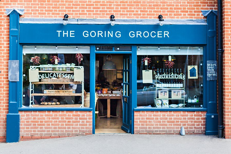 The Goring Grocer Shopfront ~ Katie Spicer Lifestyle Brand Photography