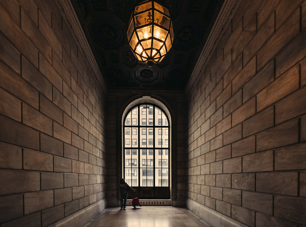 Sony A7Rii + Voigtlander SUPER WIDE-HELIAR 15mm F4.5 III - ISO 3200 1/500 - Inside the New York Public Library.