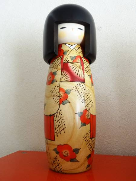 Kokeshi emblématique d'Usaburo