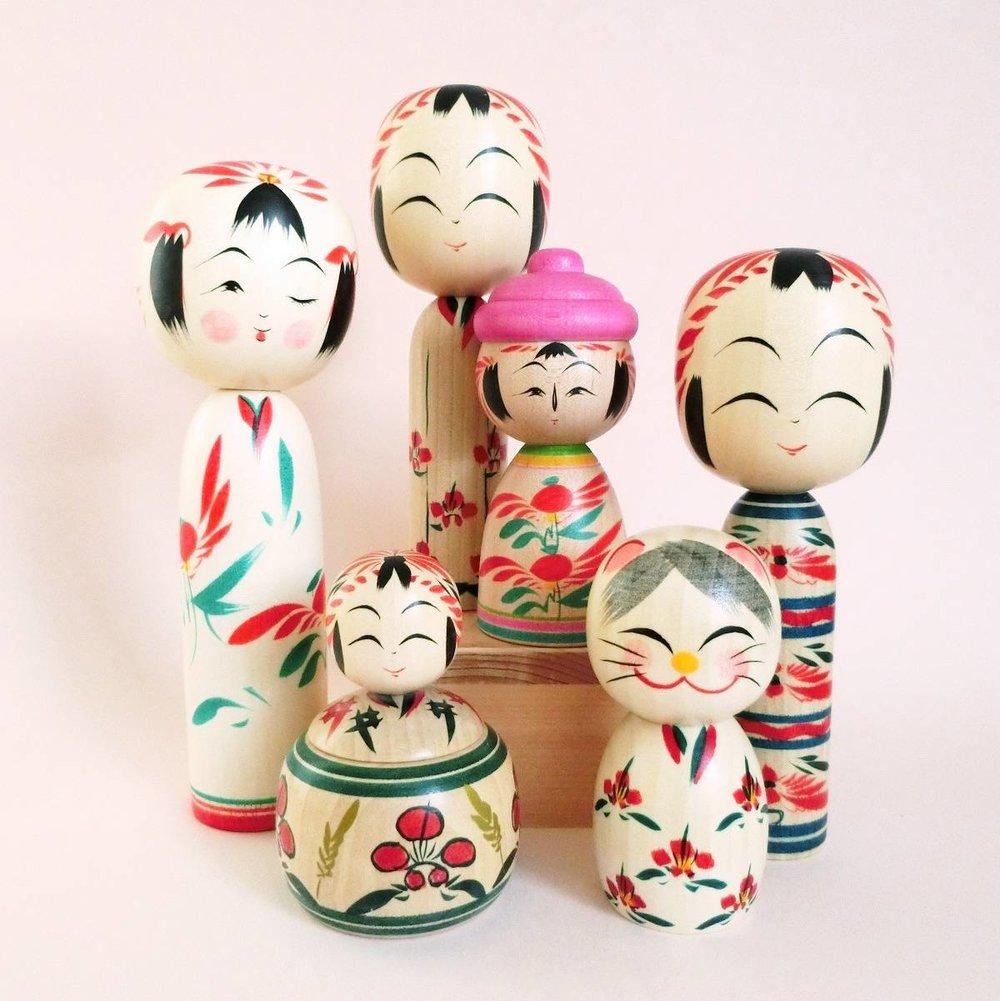 The Japanese Sense of Cute - Put a kokeshi under the Christmas tree!