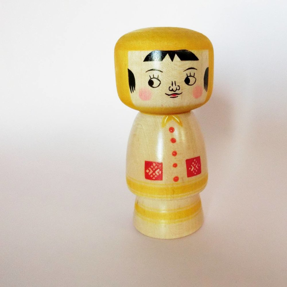 Kokeshi by Fujita Mitsuharu - Discover the works of COOKIES brand artisan!