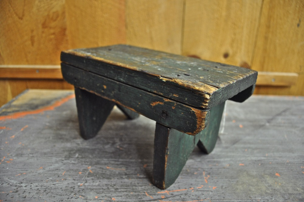 Little Green Stool