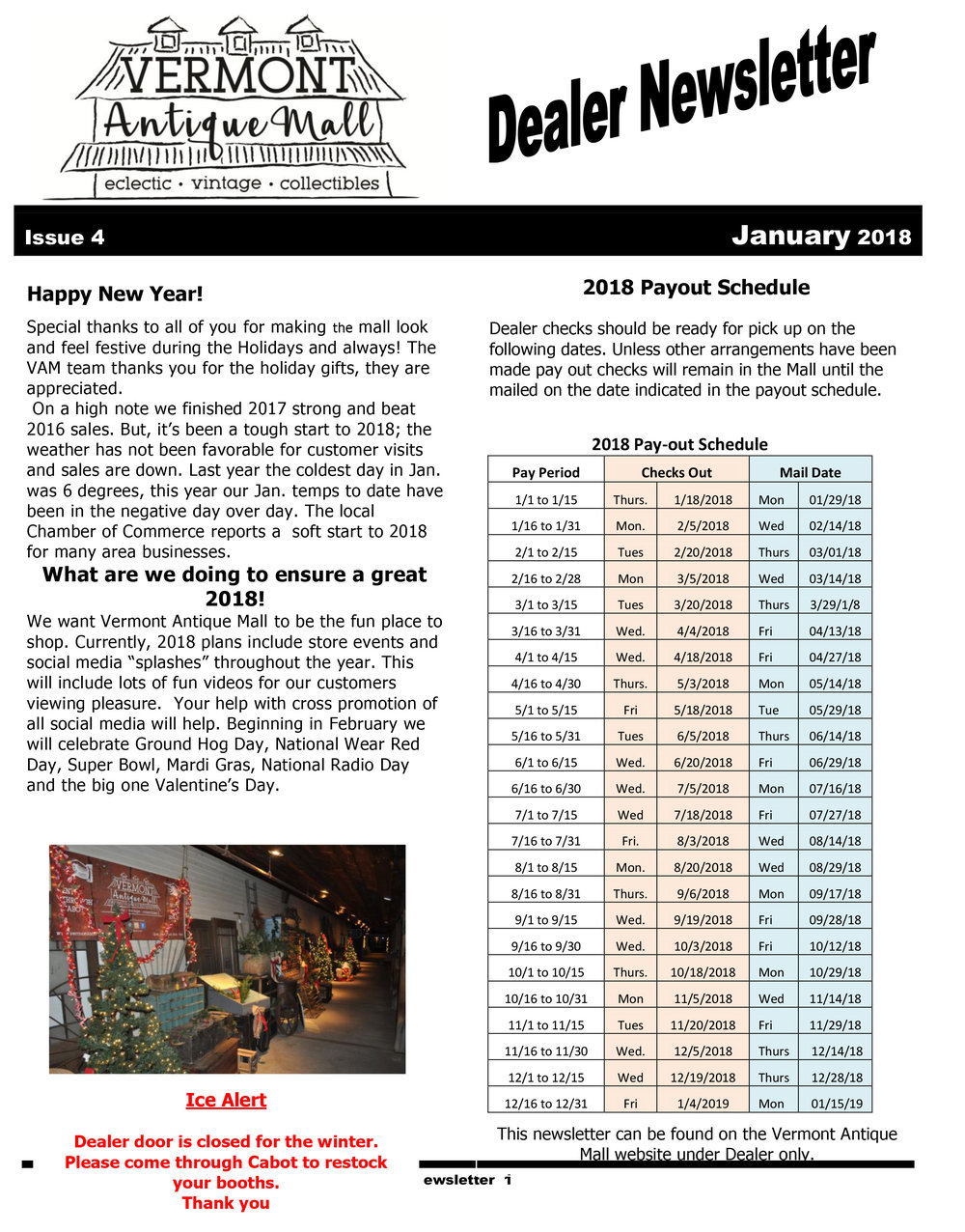 Vermont Antique Mall Dealer Newsletter Issue 4 Jan 2018.jpg