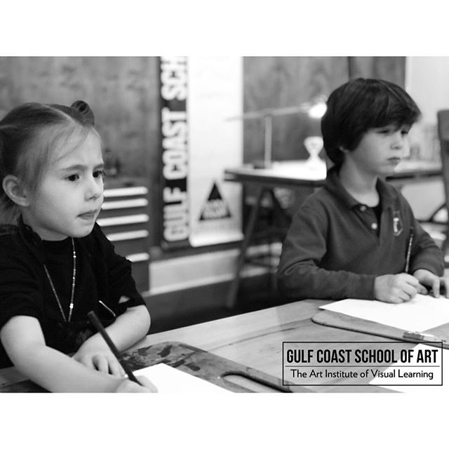 📍Gulf Coast School of Art, The Art Institute of Visual Learning • K12 #art #artschool