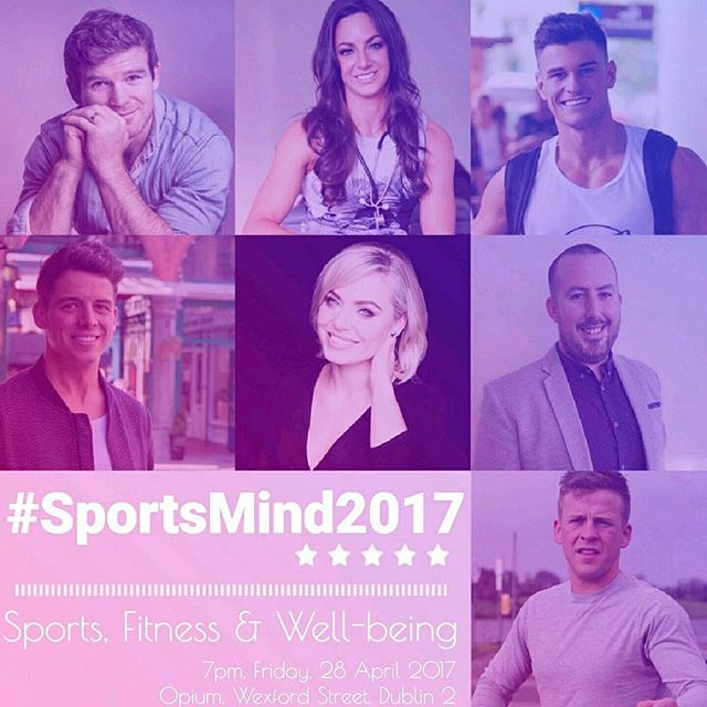 Delighted to be asked to host the SportsMind2017 event ran by @akevents_irl and @Aoife keane_1 a few months ago I spoke at a MiMind event the most daunting experience of my life but really helped me grow confidence and listen to other people's stories made me feel more normal and now I present the event with good friend @komalley81 and couldn't be more nervous! An amazing group of speakers on board and it's going to be another great event at @opiumdublin well done to all involved. #mental #mentalhealth #sports #fitness #fitfam #health #speaking #speakout #friends #gym #fit #ireland #like #event #dublin #change #open #depression #pic #relax #help #mindfulness #weekend