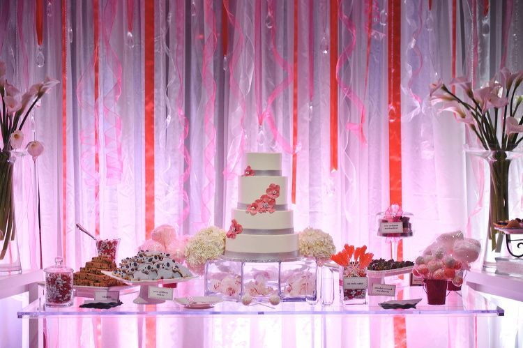 dessert bar wedding