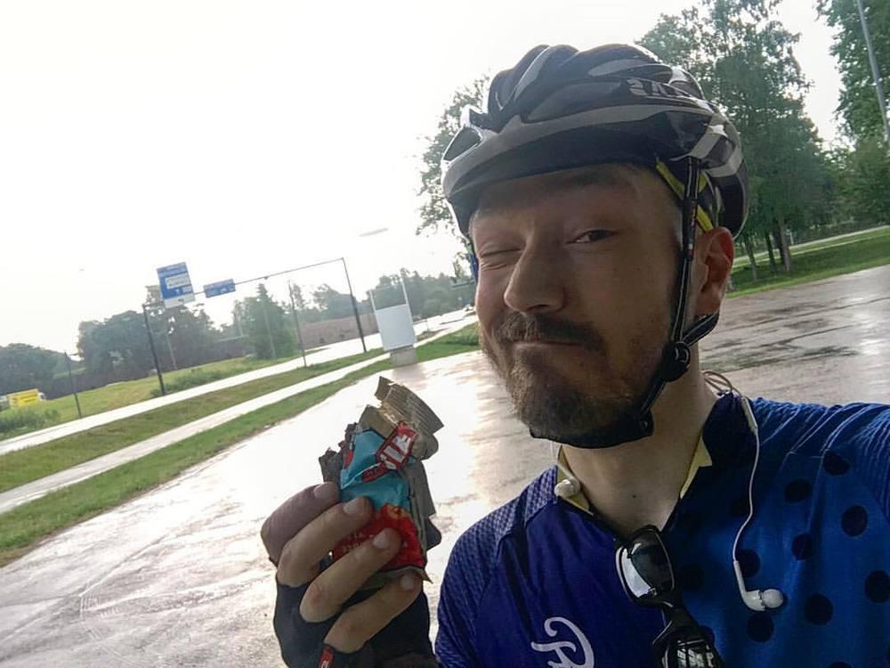 Clif Barit menee niin pyöräillessä kuin kiipeillessäkin.