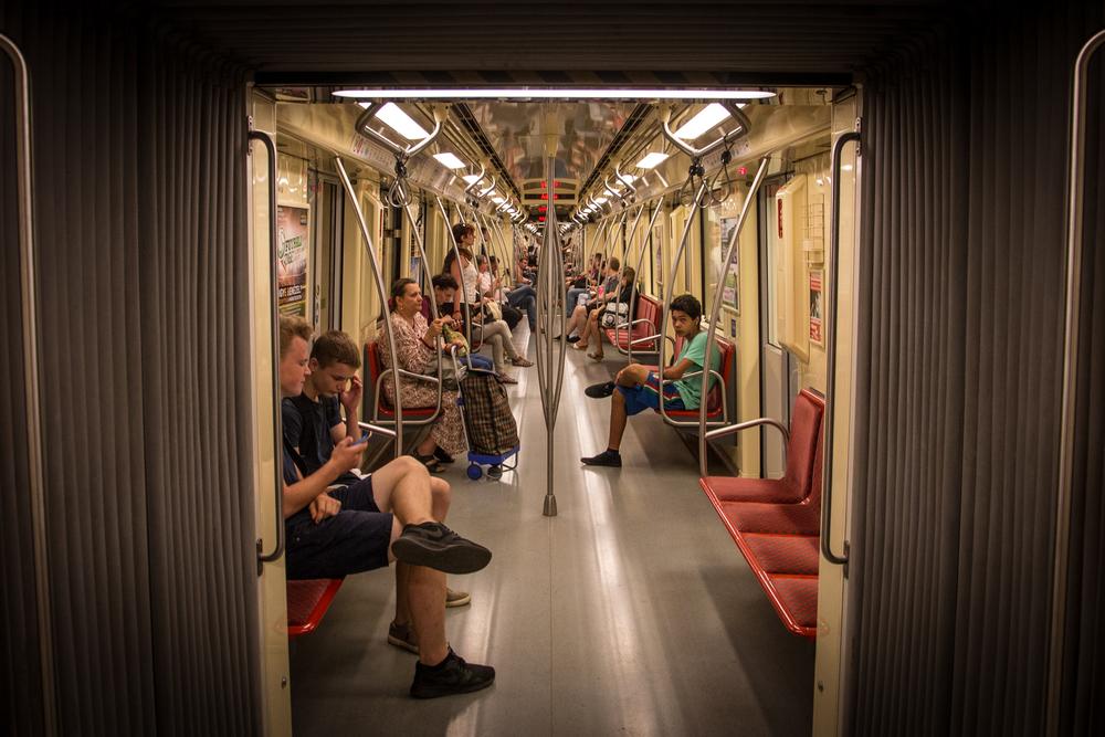 Metro toimi varsin mukavasti.