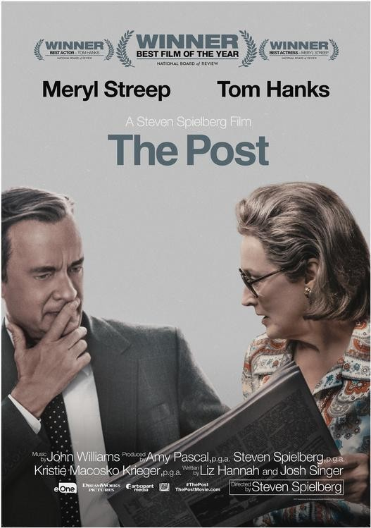 The Post movie poster