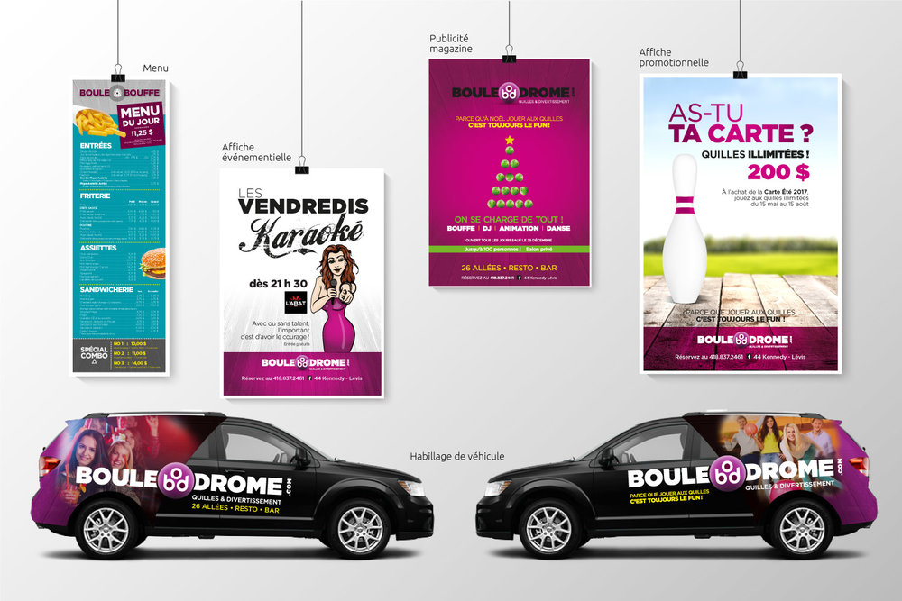 Salon de quilles Boule-O-Drome Rive-Sud