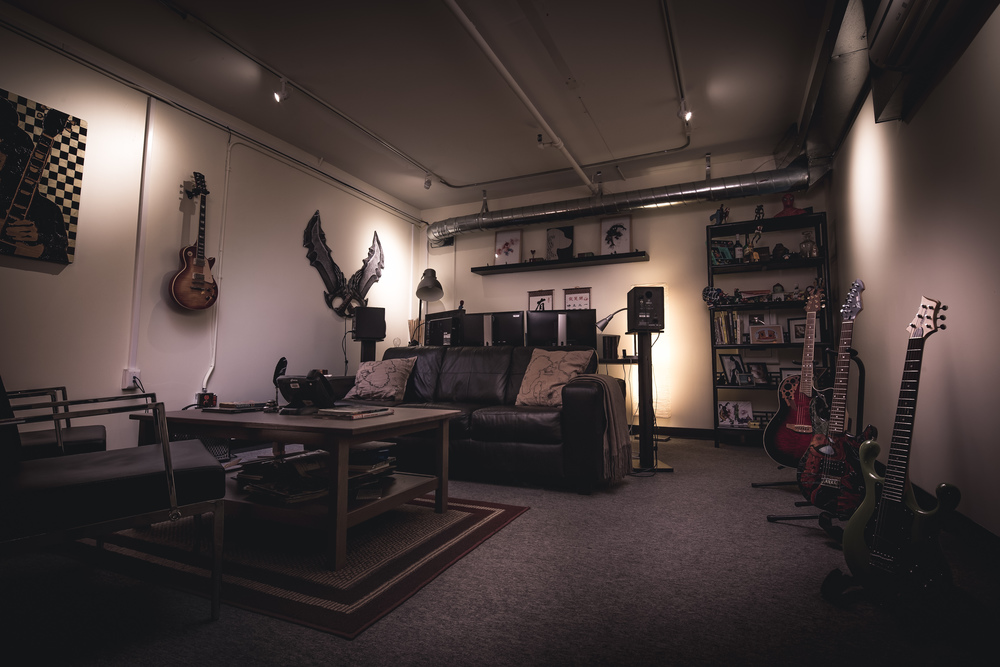 A studio with character