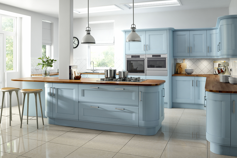 Accent - Painted Bluebell (Available In Bespoke Colours)