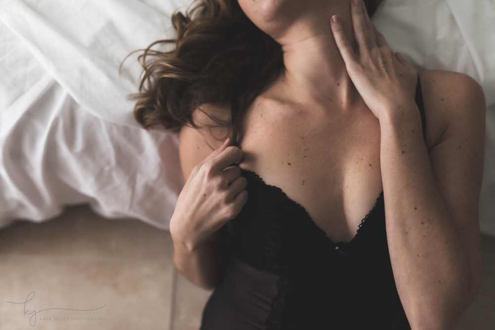 Washington DC Boudoir Portraits | Kate Juliet Photography