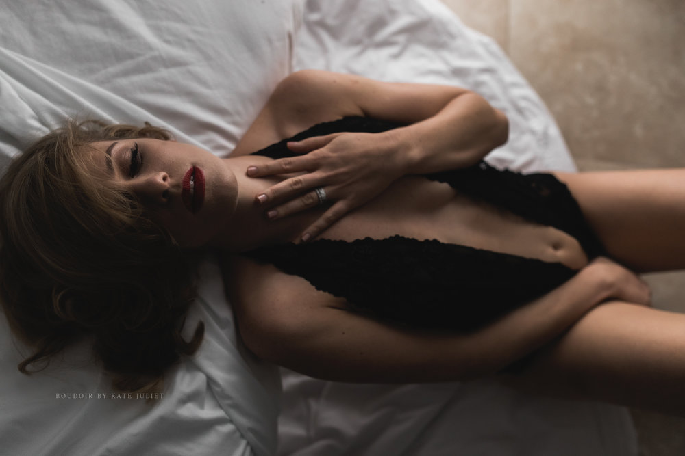 Best Northern VA Boudoir Photographer | Kate Juliet Photography
