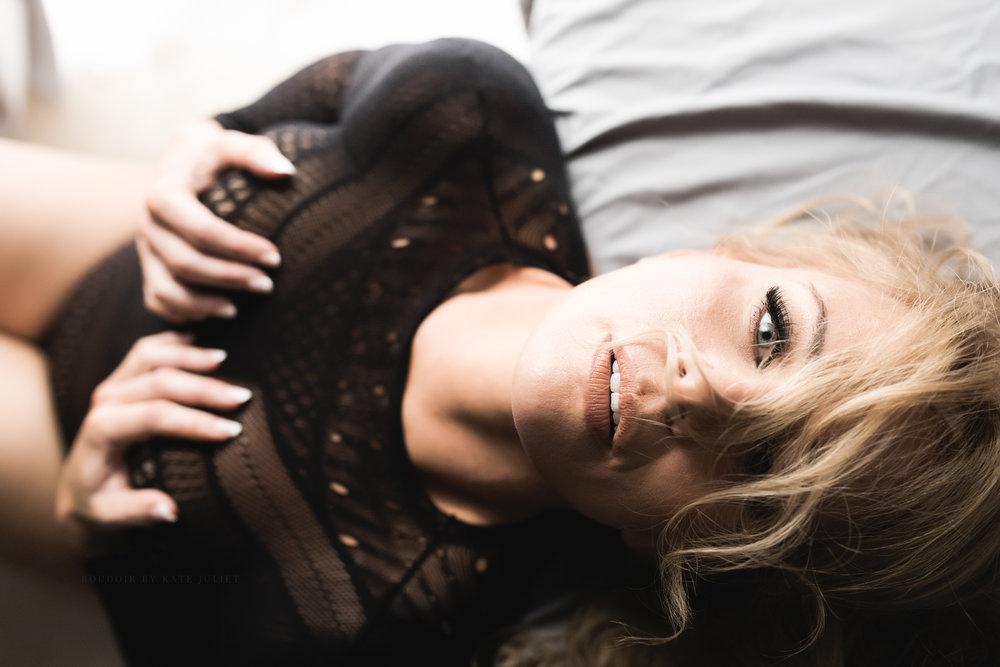 Loudoun County Women's Photographer | Boudoir by Kate Juliet