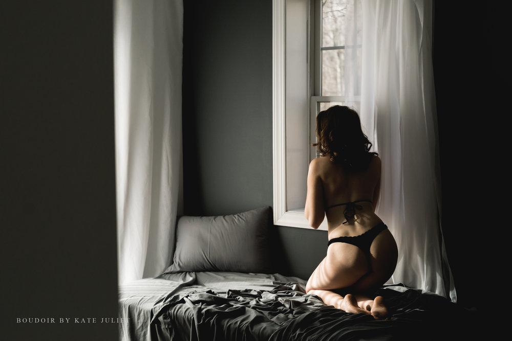 Washington DC Women's Photographer | Boudoir by Kate Juliet