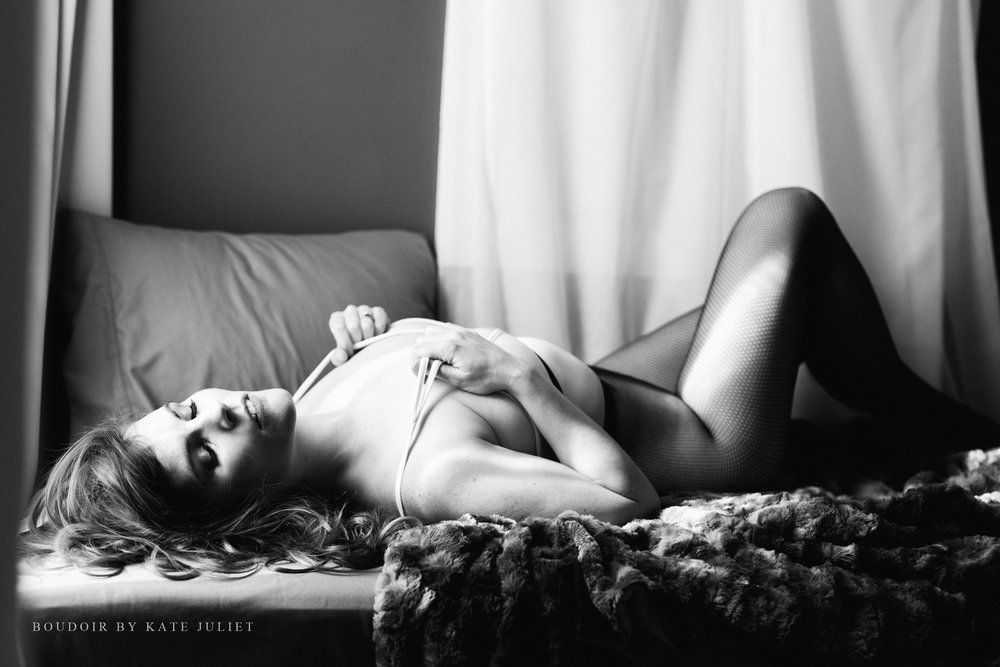 Fairfax VA Photographer | Boudoir by Kate Juliet