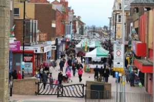Rhyl Town Centre   (no link sorry but the rest have links)