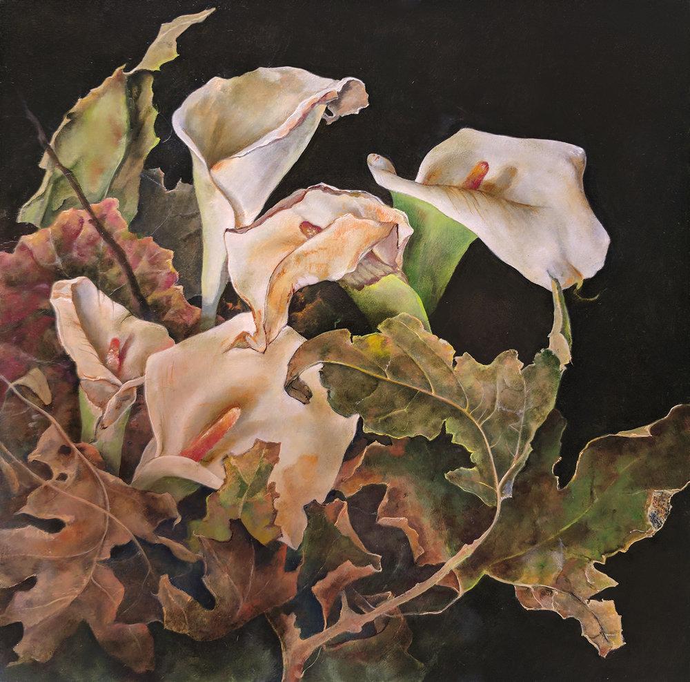 Callas Among the Leaves-S.jpg