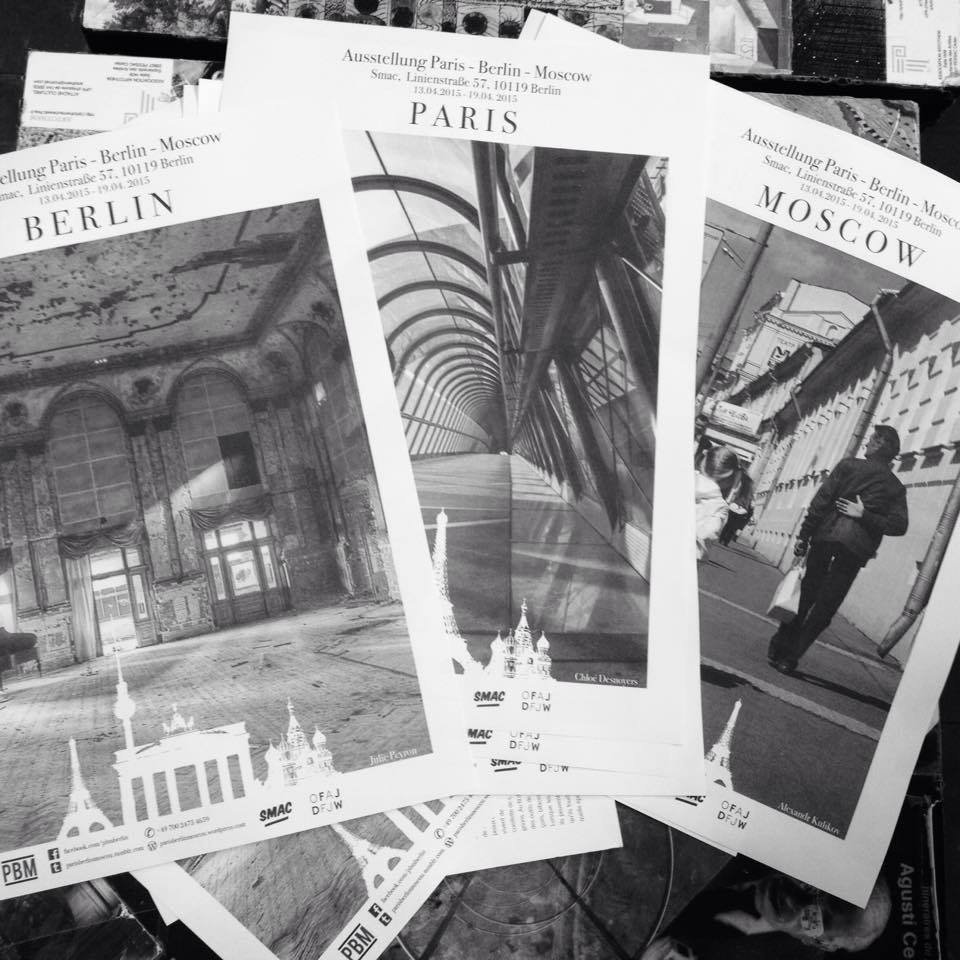 Guest exhibition: Paris — Berlin — Moscow