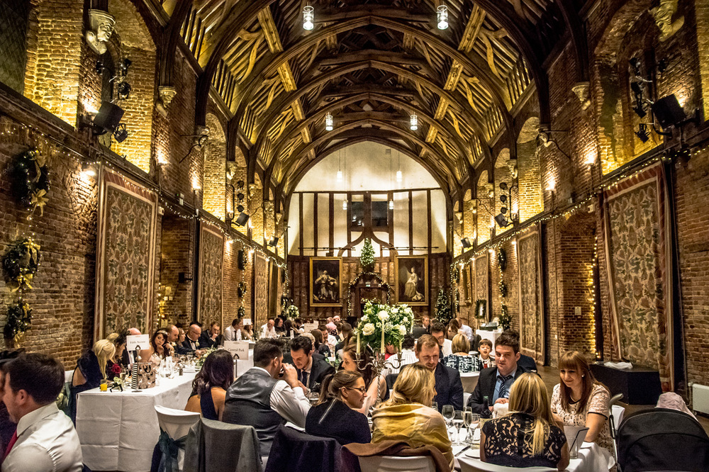 Dinner at the Old Palace