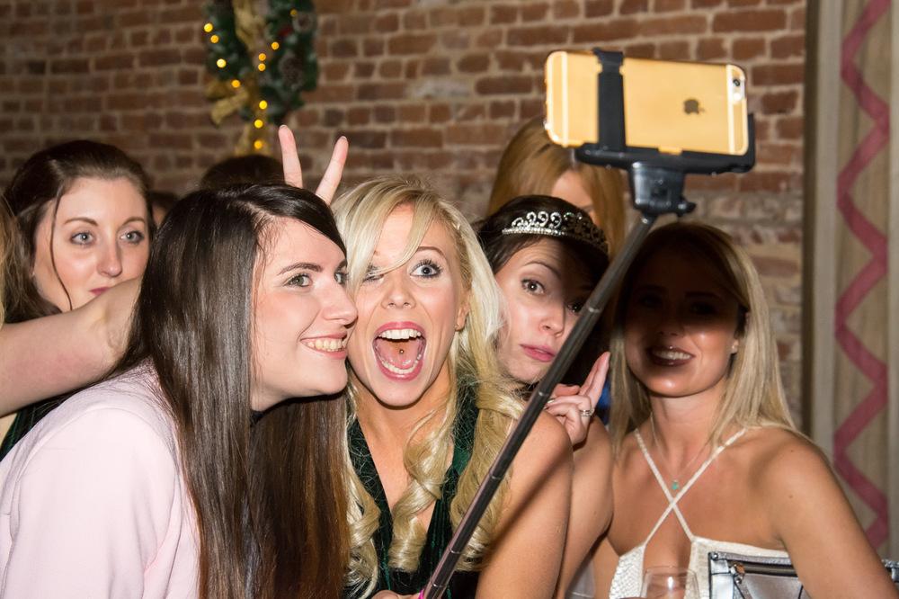 Selfie stick time!