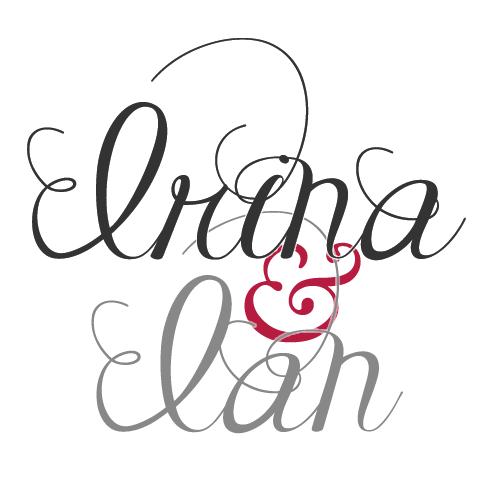 Irina & Ian  (Wedding/Hochzeit Logo)