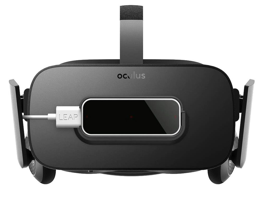 Oculus Rift's headset is light & setup is quick and easy