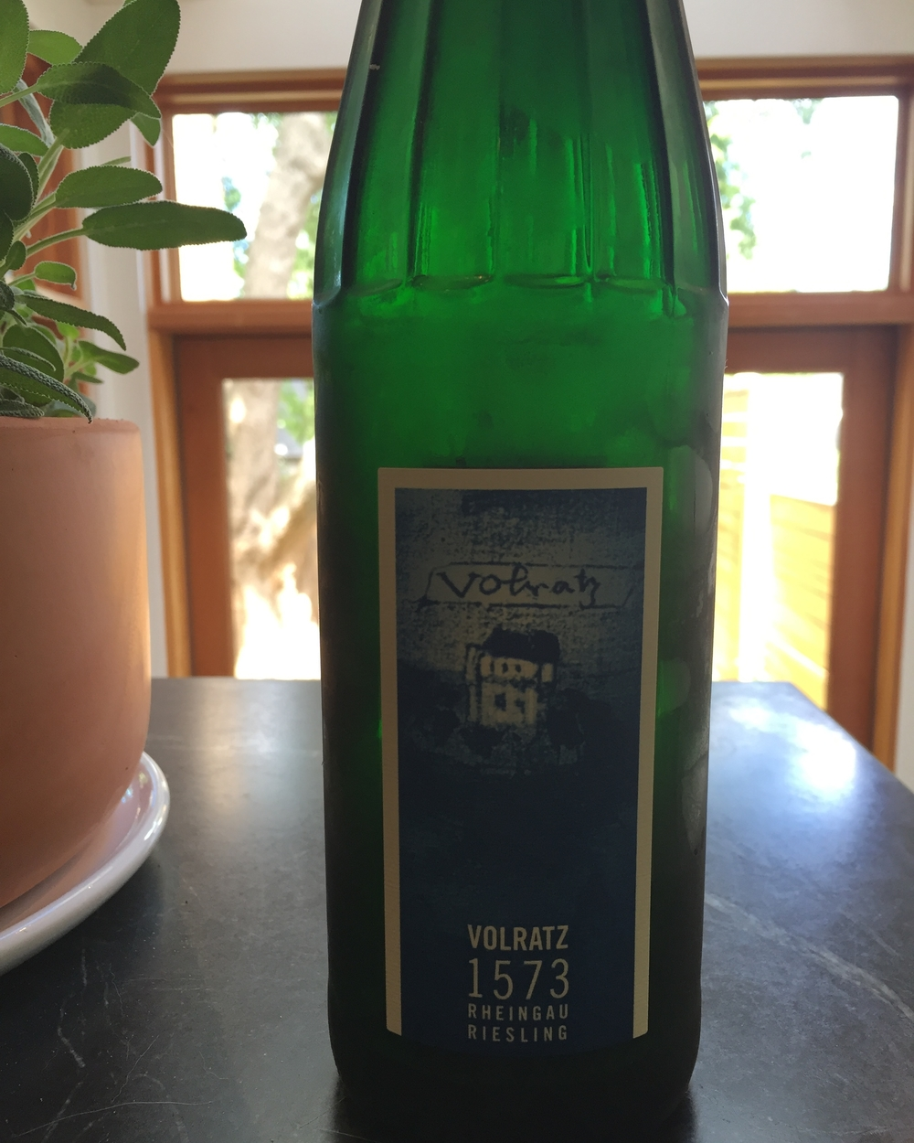 Schloss Vollrads Volratz 1573 Riesling 2013 review
