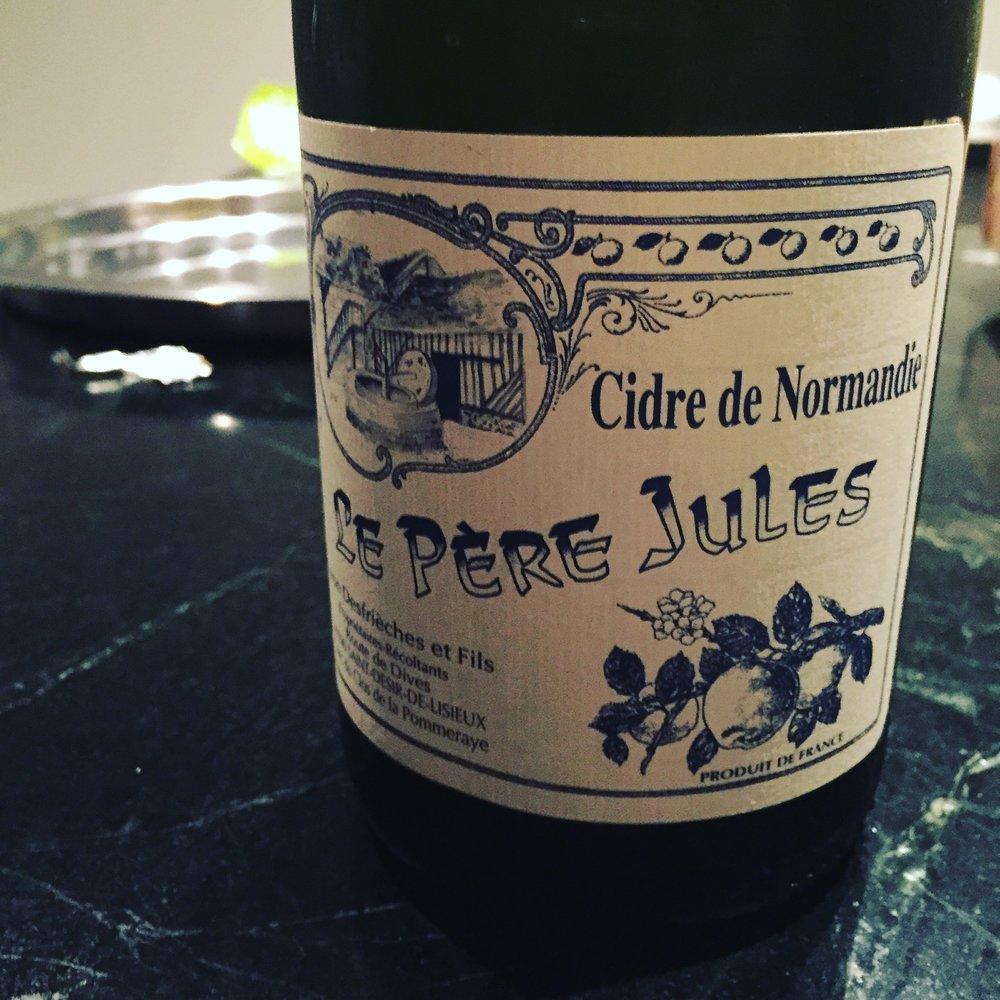 Le Pere Jules Cidre De Normandie Brut
