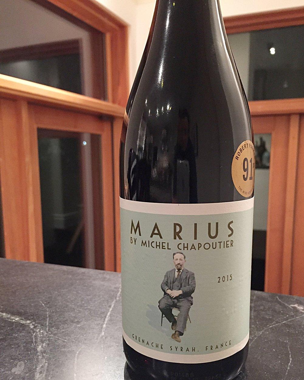 Marius Rouge 2015 Chapoutier