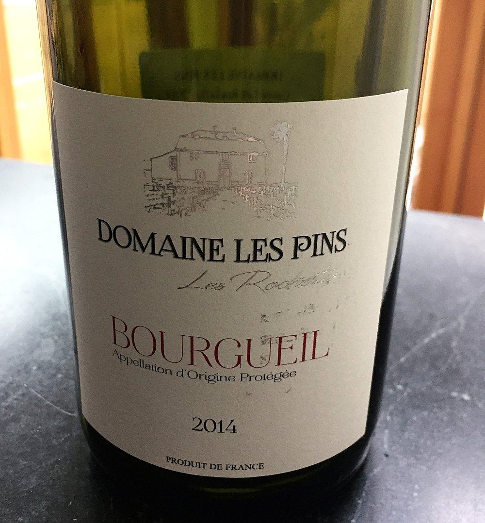 Domaine Les Pins Cuvee Les Rochettes 2014 Cabernet Franc from the Loire review