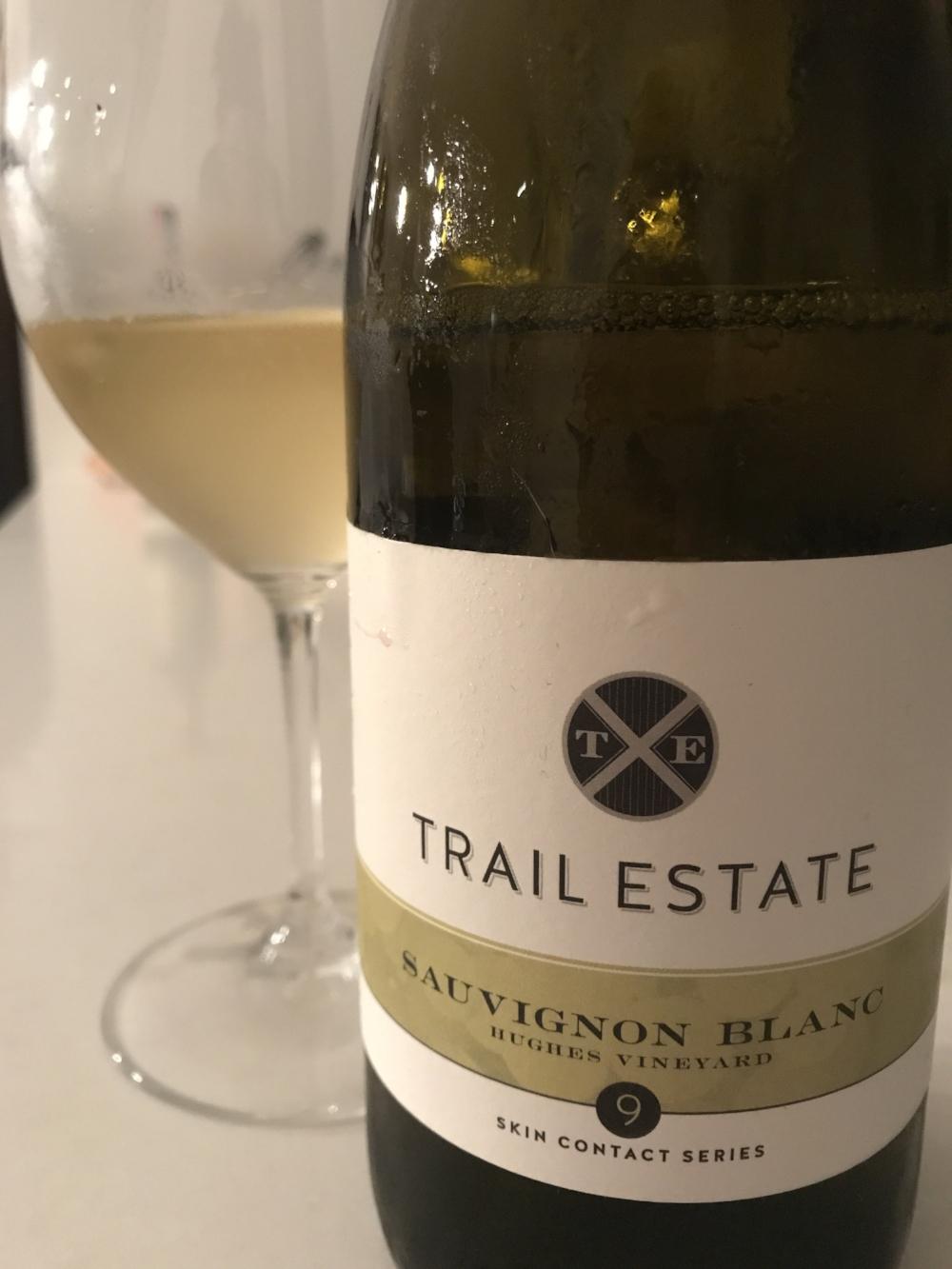 Trail Estates Skin Contact Series Sauvignon Blanc 2016