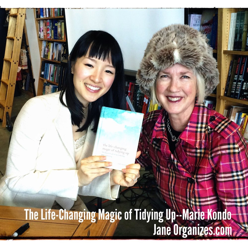 Marie Kondo: We Should Be Choosing What We Want to Keep, not discard.