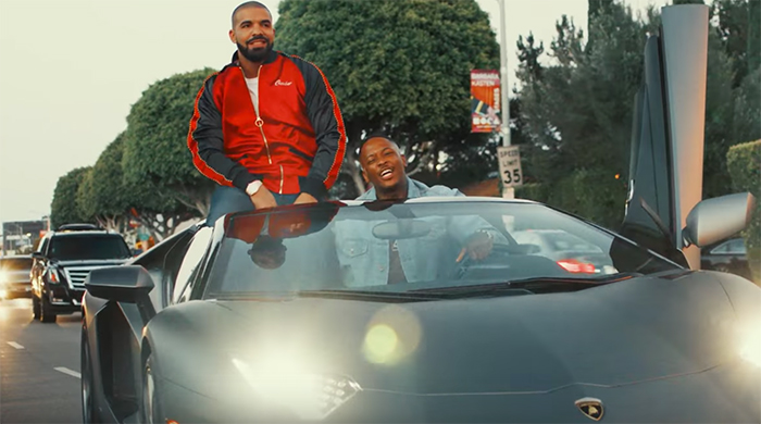 "Drake and Yg in ""Why you Always Hating"" Video"