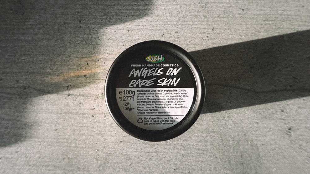 LUSH Angels on Bare Skin Face & Body Cleanser