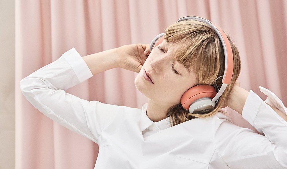 Shown here:  B&O H4 Headphones , the headphones I use
