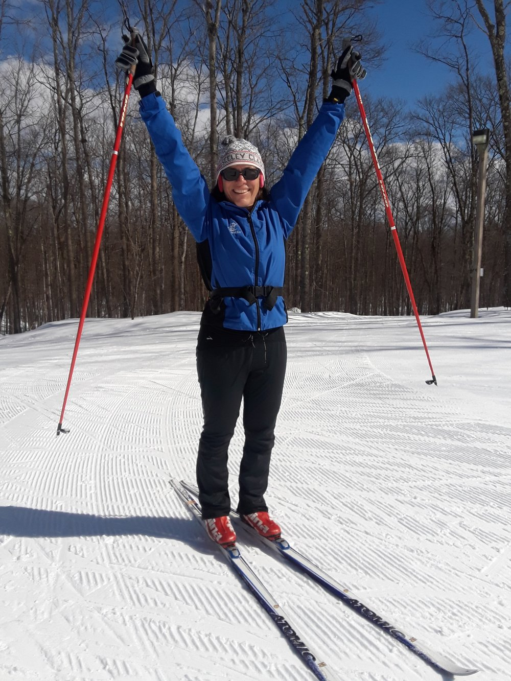 Kathy Sanville - I love the outdoors, I love being active, and I love winter; so nordic skiing is a natural fit. It all started when my boys were 3 and 5 and we were looking for something to do on those long winter Sunday afternoons. We found MYSL (Minnesota Youth Ski League) which kicked off a family passion for cross country skiing. 16 Birkie's, 10 World Loppet races, and 7 years of chaperoning high school ski events, I still love it and the local ski community that are now my friends.