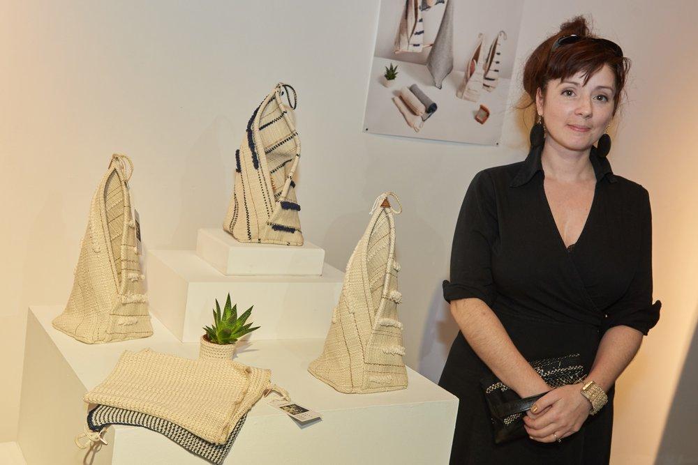 Alice Lambert, récipiendaire du Prix d'Excellence Caisse de la culture.
