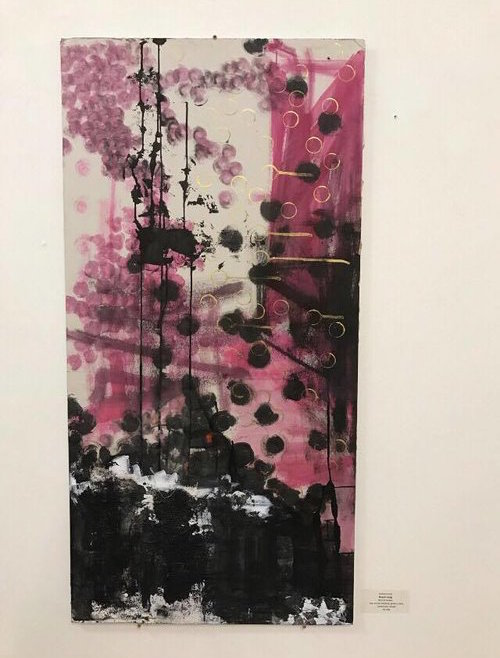 MASTER SONG   24 x 48 x .75 inches  $1750