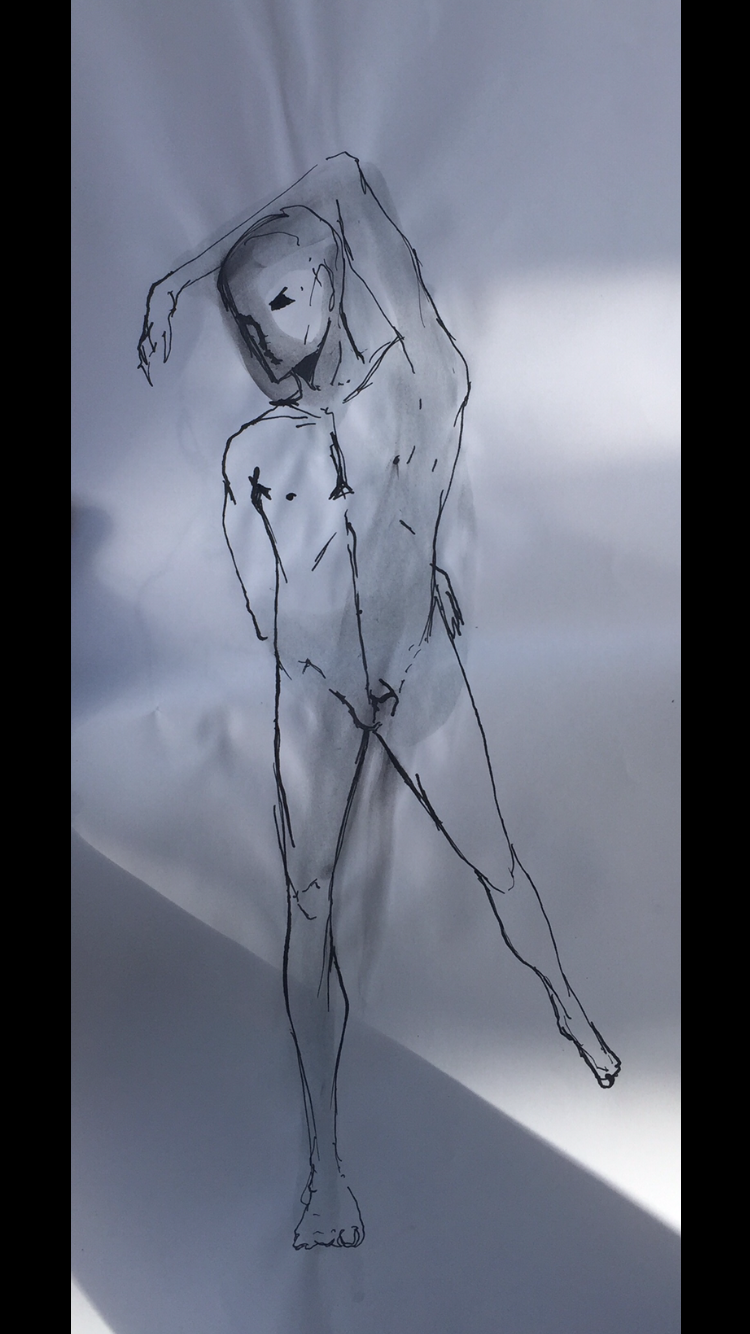 FIGURE DRAWING - PARSONS   SEPTEMBER 2016