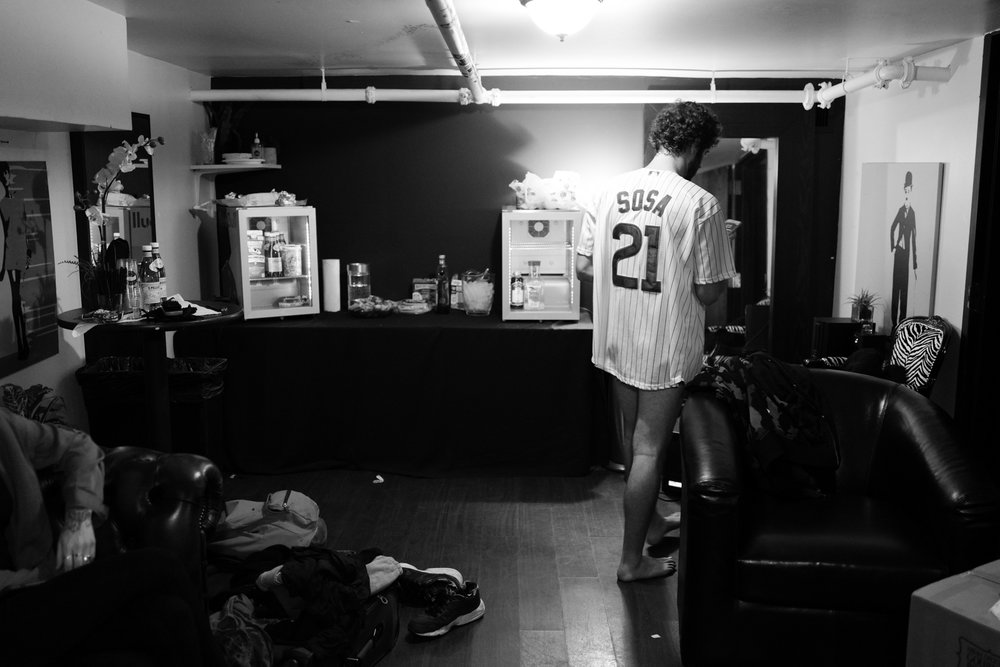 Lil Dicky Backstage after the show. Leica Q.                                                     Copyright of Nicholas Pinto 2016