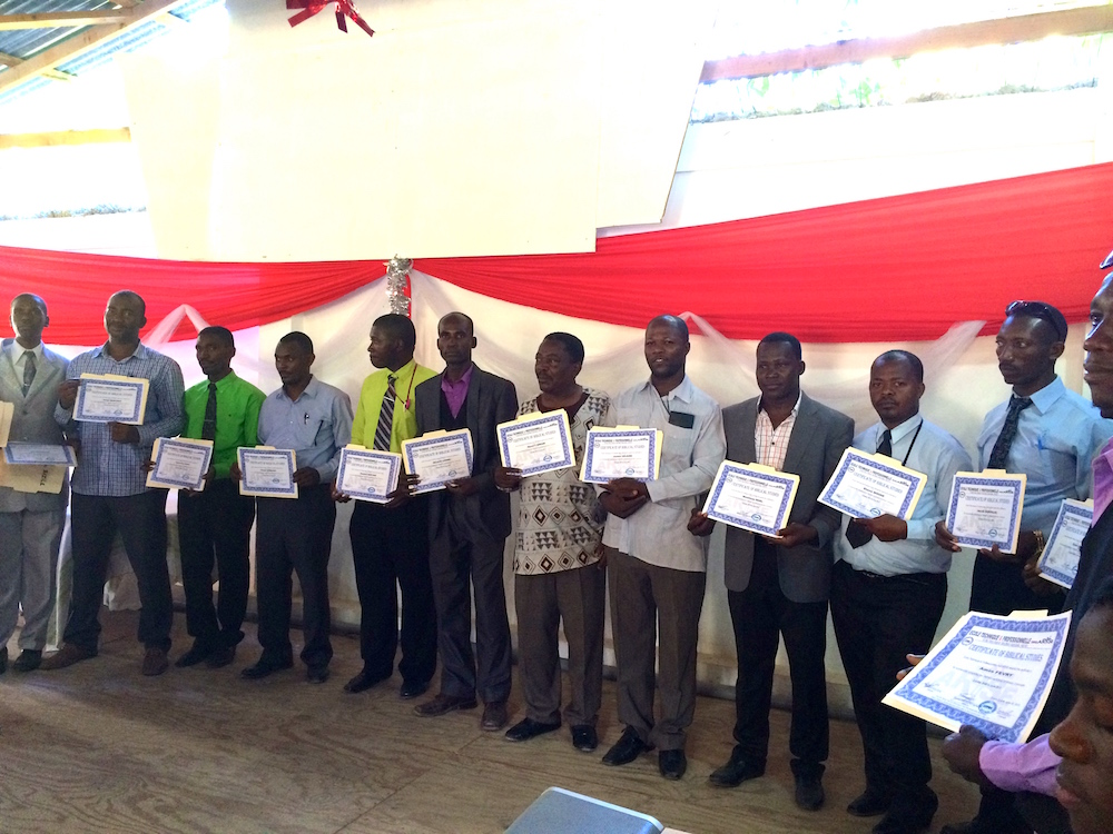 Bible College graduates