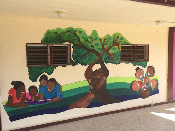 Mural at the Children's Village