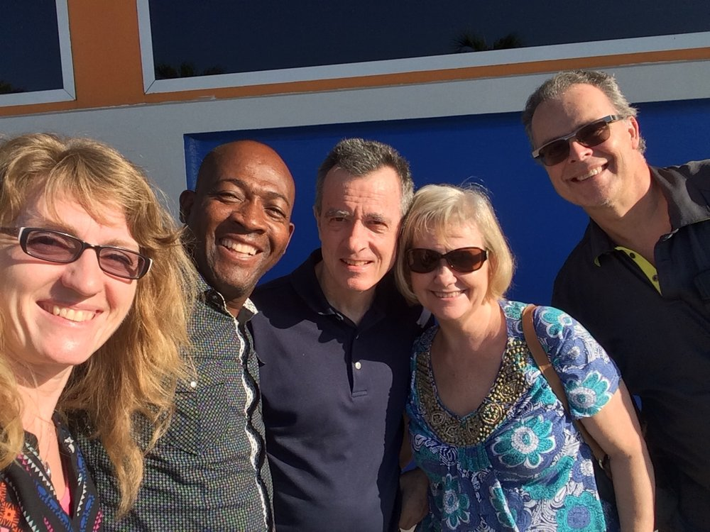 Pritchard & Dana Adams, Ed Allan and the Honorats in Cap Haitien