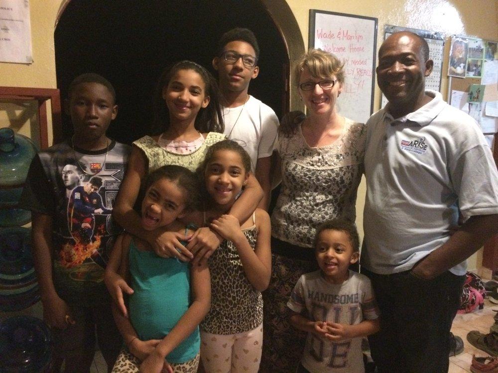 Honorat family growing
