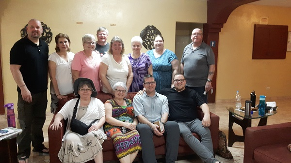 Welcome Surrey Alliance Church from Surrey, BC. It has been two years since we have had the pleasure of having a team from Surrey. They are an enthusiastic group who are truly 'family'. Keep watch for their blogging.....