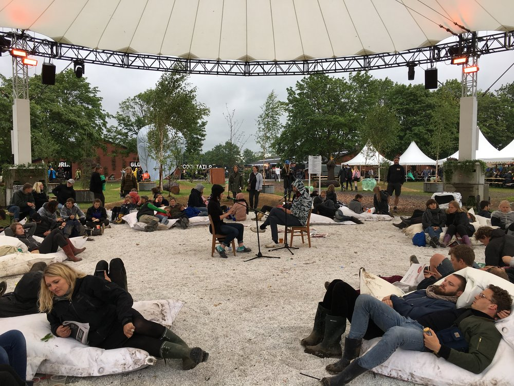 a.rawlings & johannes heldén, ecopoet(h)ics performance, roskilde festival (2017)