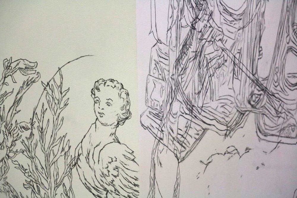 Asbjørn Skou, SporeSpore  (2017), detail. INSTALLATION SHOT:Aage A. Mikalsen / Kunsthall Trondheim